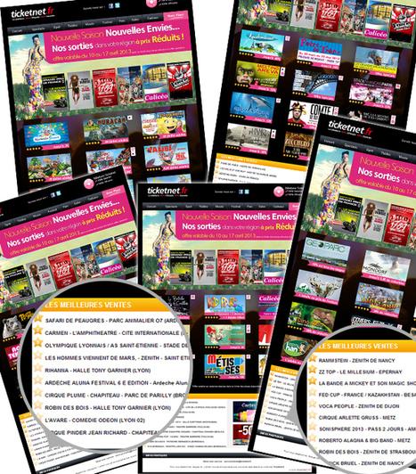 Cibler et personnaliser son emailing : l'exemple de Ticketnet | Email Marketing Francophone | Scoop.it