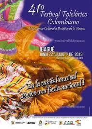 ¡actualizate! programación del festival folclórico colombiano | ibagué cultura y deportes | Scoop.it