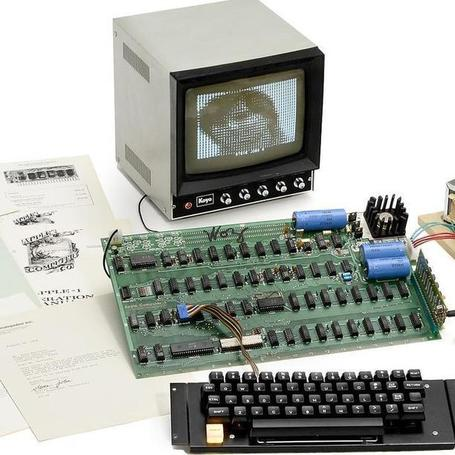 "Ultra-Rare Apple I Computer Up for Auction | L'impresa ""mobile"" 