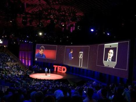 Edward Snowden appears on the @TED stage via robot. : davemorin | The Robot Times | Scoop.it