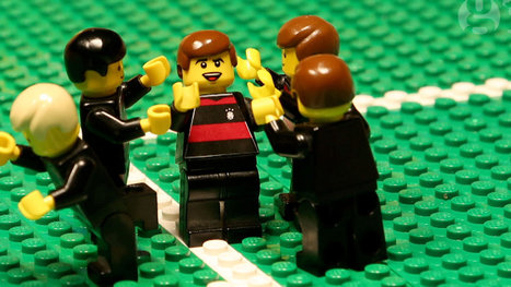 USA v Germany at World Cup 2014 – brick-by-brick video animation | CTecICT | Scoop.it