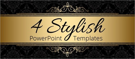 4 Stylish PowerPoint Templates - eLearning Brothers | eLearning Templates | Scoop.it