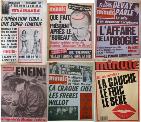 «Minute», ascenseur pour les fachos | DocPresseESJ | Scoop.it