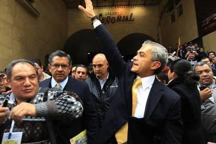 Mancera protesta como candidato y llama a la unidad en el PRD | Mexico Opinion | Scoop.it