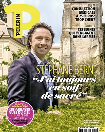 Pèlerin : Stéphane Bern confie avoir une soif de sacré | L'observateur du patrimoine | Scoop.it