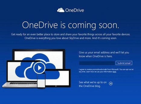 OneDrive is the new name for Microsoft SkyDrive : Web, Mobile & Big Data Blog | Latest in Technology | Scoop.it