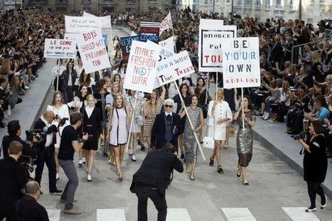 EN IMAGES. Chanel : manifestation fashion au Grand Palais | Maison Chanel | Scoop.it