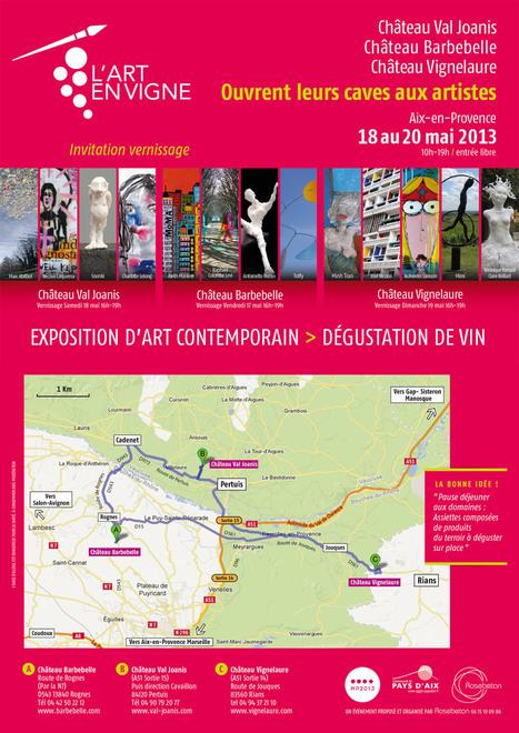 L'ART pousse … dans les vignes - Magazine du vin - Mon Vigneron | Agenda du vin | Scoop.it