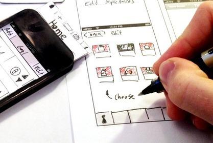 UX-design: Les prototypes papiers sont une perte de temps | UX - Mobile et website | Scoop.it