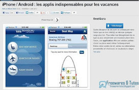Le site du jour : les applications iPhone/Android indispensables pour les vacances | Freewares | Scoop.it