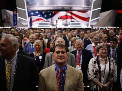 Chaos on floor of Republican National Convention as 'Never Trump' faction tries to get vote on rules | Political Agendas | Scoop.it