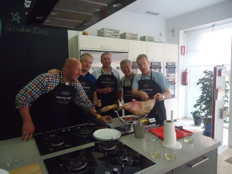 Taller de corte de jamón para grupo de cocineros Holandeses.   JAMON IBERICO   Scoop.it