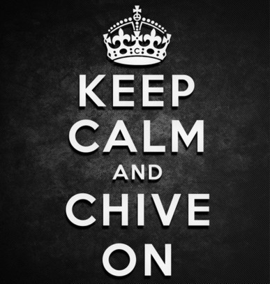 Keep Calm and Chive On Stickers - KCCO Decals Chive On Stickers Chivette Decal TheChive Sticker   KCCO TheChive Stickers   Scoop.it