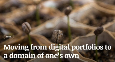 Moving from Digital Portfolios to a domain of one's own | ED 262 Research & Resource Skills | Scoop.it