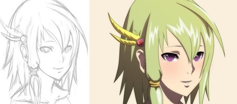 Photoshop Tutorial: Tips for Simple Anime Painting in Photoshop | Bazaar | Scoop.it