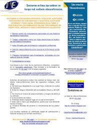 Seminarios online, tipo webinar, en tiempo real, mediante ...   Diseño Instruccional UNET   Scoop.it