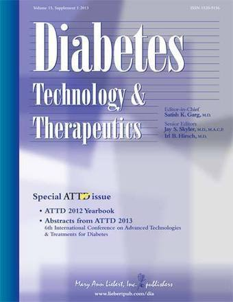 Volume 15, Issue S1 | Diabetes Technology & Therapeutics | Table of Contents | diabetes and more | Scoop.it