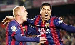 Barcelona's Luis Suárez lauded by both coaches after winner against Real - The Guardian | AC Affairs | Scoop.it
