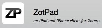 ZotPad 1.2 has been released | Zotero | Scoop.it