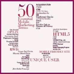 Mobile Marketing Glossary: 50 Essential Terms | Mobile Content Marketing | Scoop.it