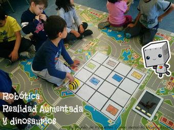 European Robotics Week Education #ERW15: Robótica, Realidad Aumentada y dinosaurios en infantil | FOTOTECA INFANTIL | Scoop.it