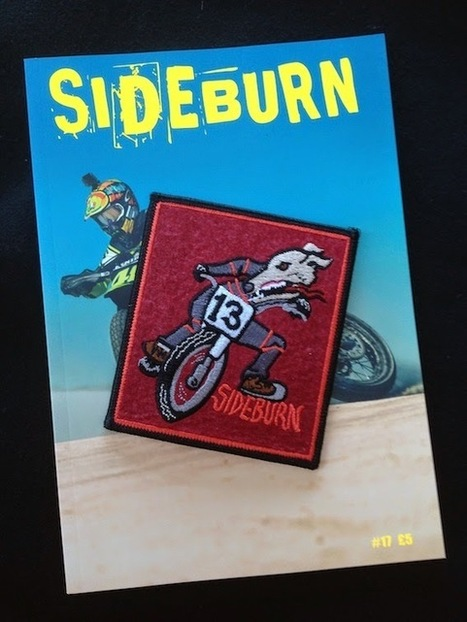 Sideburn x Dirty Needle Embroidery Tierra Patch | California Flat Track Association (CFTA) | Scoop.it