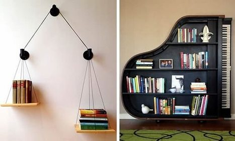 20 Most Creative Bookshelves Ever | Book Shelves | Scoop.it