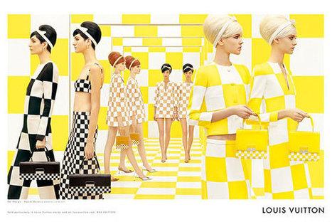 Louis Vuitton's Spring 2013 Campaign by Daniel Buren and Steven Meisel | Comment communique les marques de luxe ? | Scoop.it
