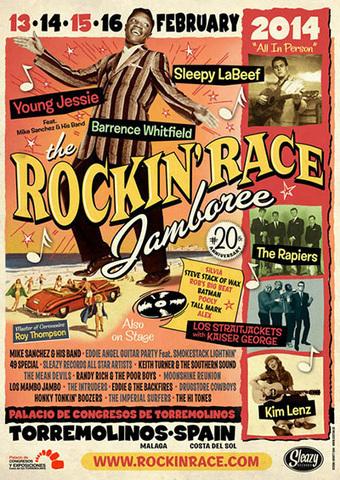 20 Aniversario – ROCKIN' RACE JAMBOREE – TORREMOLINOS ... | ZOMECS | Scoop.it
