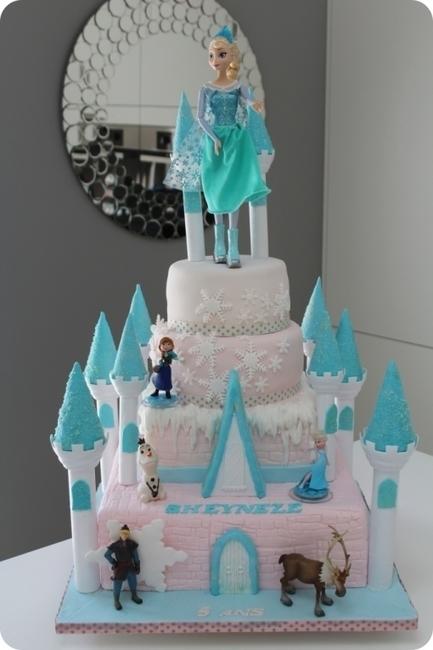 FROZEN CAKE 01 - Cake Design | Mini-sites faire-part | Scoop.it