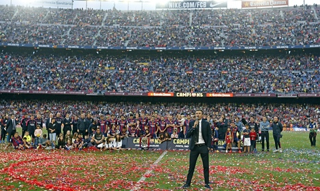 How Barcelona's Luis Enrique proved everyone wrong – and ended the hunting season | Sid Lowe - The Guardian | AC Affairs | Scoop.it