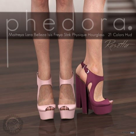 Rosetta Platforms With 21 Colors HUD Group Gift by phedora | Teleport Hub - Second Life Freebies | Second Life Freebies | Scoop.it
