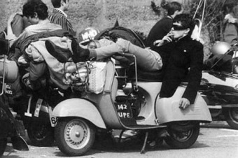 Collage of Life: Romancing the Vespa...and Mr. H | Vespa Stories | Scoop.it