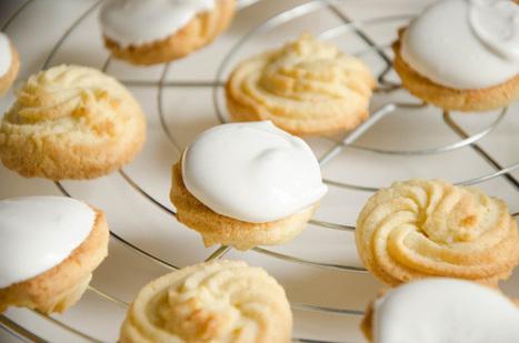 Biscuits spritz à la vanille | Recettes à la Vanille | Scoop.it