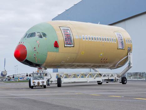 Airbus A350 XWB : le cinquième en assemblage final - Air-Journal | Aviation | Scoop.it