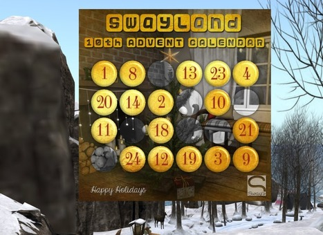 Sway's Adventskalender | Second Life Freebies and bargains | Scoop.it