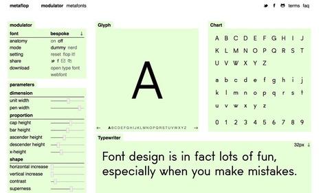 Cómo diseñar tu propia tipografía en muy pocos minutos   Un milimetro más allá   Scoop.it