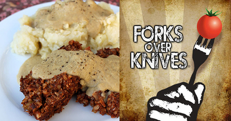 Lentil and Rice Loaf with Mashed Potatoes and Gravy   My Vegan recipes   Scoop.it