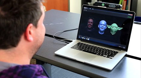 Radically new software tracks a person's facial expressions and maps it in real-time onto a digital avatar | Amazing Science | Scoop.it