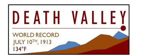 Death Valley-100th Anniversary of 134F #climate #record its beginnig #climatefeedback | Messenger for mother Earth | Scoop.it