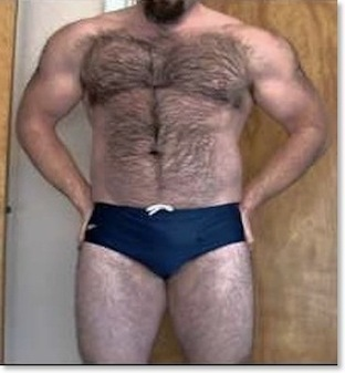 Are Straight Men Afraid Of Speedo Brief Bulges? | Muscle Bears And Gay Fitness | Scoop.it