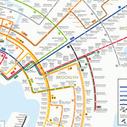 Métro de New York en version concentrique | Journalisme graphique | Scoop.it