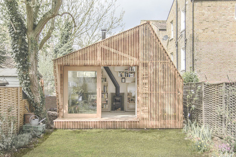 Une cabane de conteur pour abriter l'inspiration au fond du jardin | Bibliothèques et jeunesse | Scoop.it