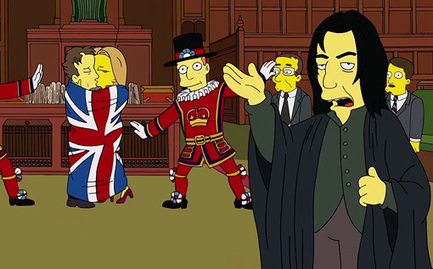 'The Simpsons': Watch Benedict Cumberbatch play the British prime minister AND Snape — EXCLUSIVE VIDEO | EW.com | ADDICTED TO BEN | Scoop.it