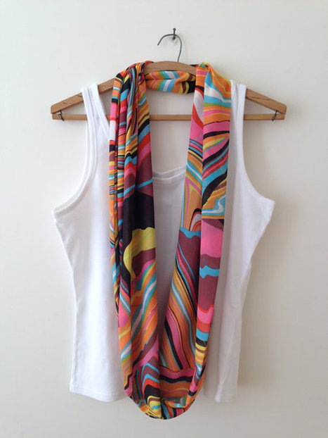 ON SALE, Chiffon Scarves, Loop Scarf ,Women Scarf , Scarf, Gift, Multi Colors,Triangle Scarf | bestbazaar | Scoop.it