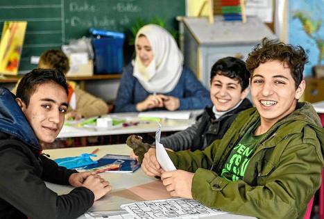 Integration von Flüchtlingskindern in Unterfranken - Beispiel Mittelschule Gaukönigshofen, Lkr. Würzburg | Schule und Bildung in Unterfranken | Scoop.it