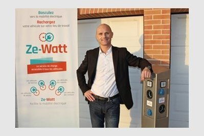 Ze-Watt: une offre «plug and play» pour recharger son véhicule électrique sur son lieu de travail | Toulouse networks | Scoop.it
