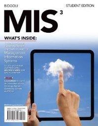 Test Bank For » Test Bank for MIS, 3rd Edition : Bidgoli Download | Management Information Systems Test Banks | Scoop.it