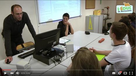 Websérie vidéo sur les usages de L'Educ de Normandie (ENT itslearning) - L'Educ en classe de lettres | ENT | Scoop.it