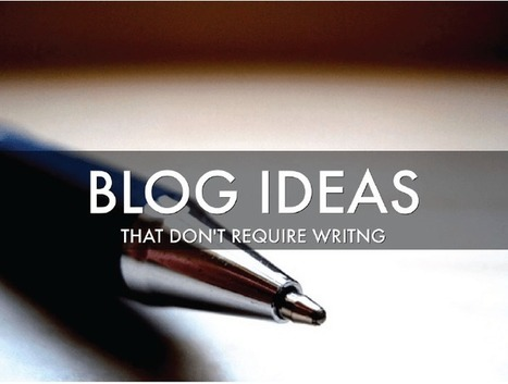 Blog Ideas That Don't Require Writing Hundreds of Words | CJS MEDIA | SEO, Social Media & PPC | Scoop.it